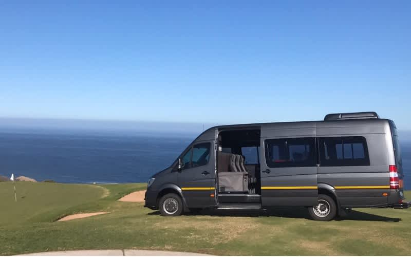 Planning a Tour/Trip around the Western Cape - 12 Guests in a Luxury Golf Tour Bus WITH Personal Driver for only R3 499!