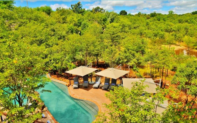 Victoria Falls Safari Club, Zimbabwe: 1 Night Stay FOR 2  & Breakfast + Dinner- Overlooking the Zambezi National Park!