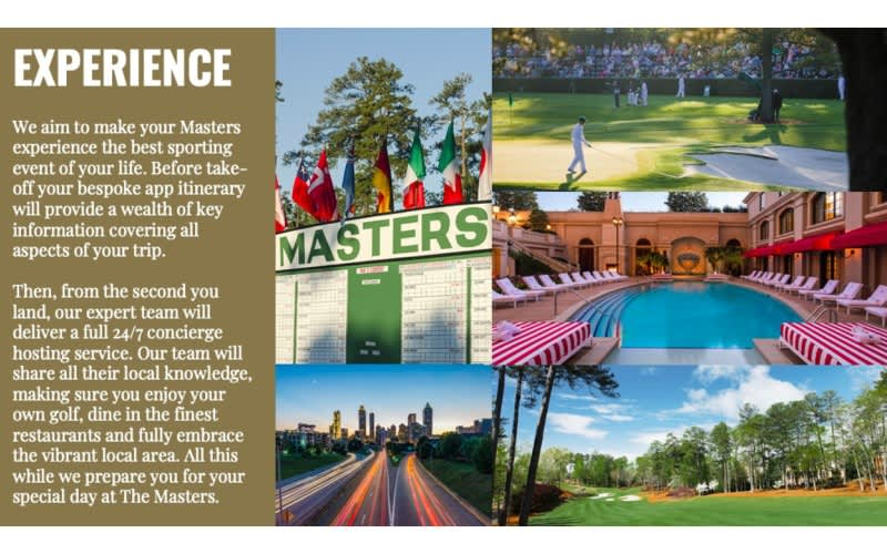 ATLANTA & PINEHURST MASTERS TOUR: 8 Nights OF LUXURY, Golf with carts at 7 TOP RANKED COURSES + the FINAL DAY at THE MASTERS 2022!