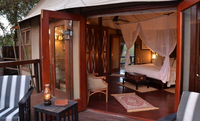 FLY-IN KRUGER- Hamiltons Tented Camp- ALL INCLUSIVE Luxury Stays for 2 Including: Meals + Safaris & FLIGHTS!