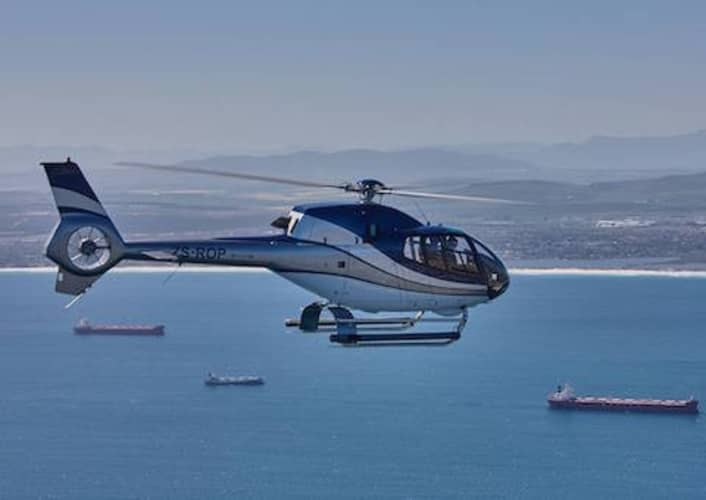 Stunning ROBBEN ISLAND Scenic Flight with Cape Town Helicopters for 4 people Only R2 500 pp!