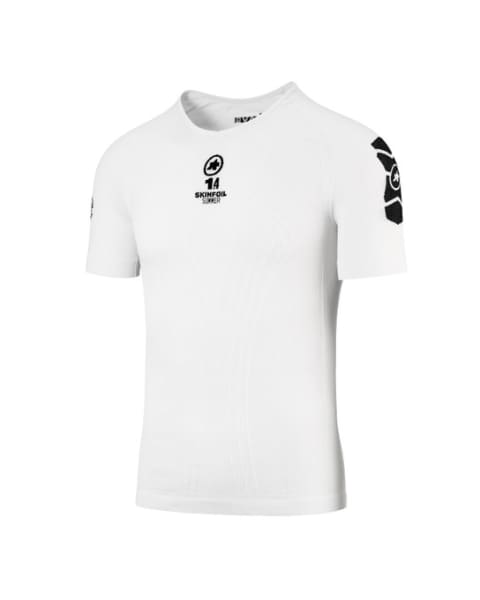 Assos skinfoil SS Men's White Base Layer Shirt