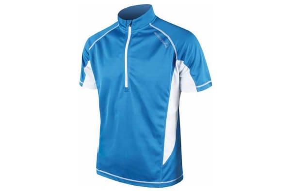 Endura Men's Blue Cairn Short Sleeve Jersey