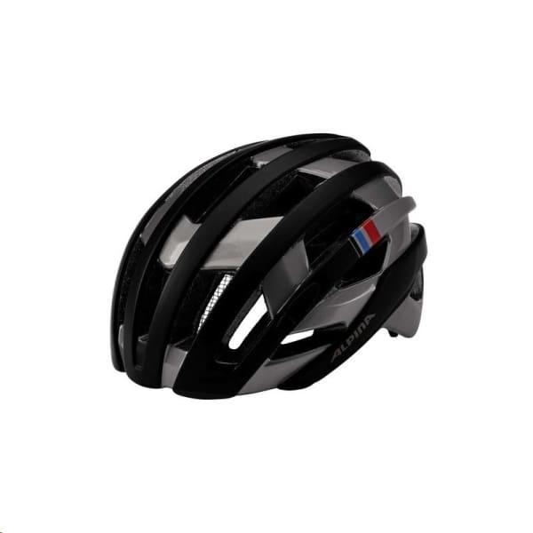 Alpina Campiglio Black/Silver Road Helmet