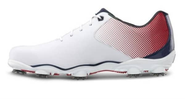 Footjoy DNA Helix Men's White/Red/Blue Shoes