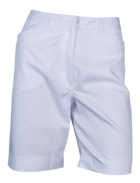 Clubhouse Basic Ladies White Short