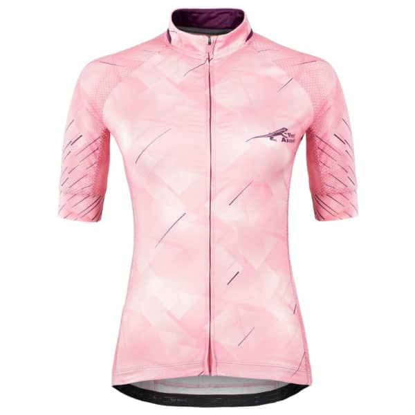 First Ascent Ladies Mauve Strike Short Sleeve Jersey