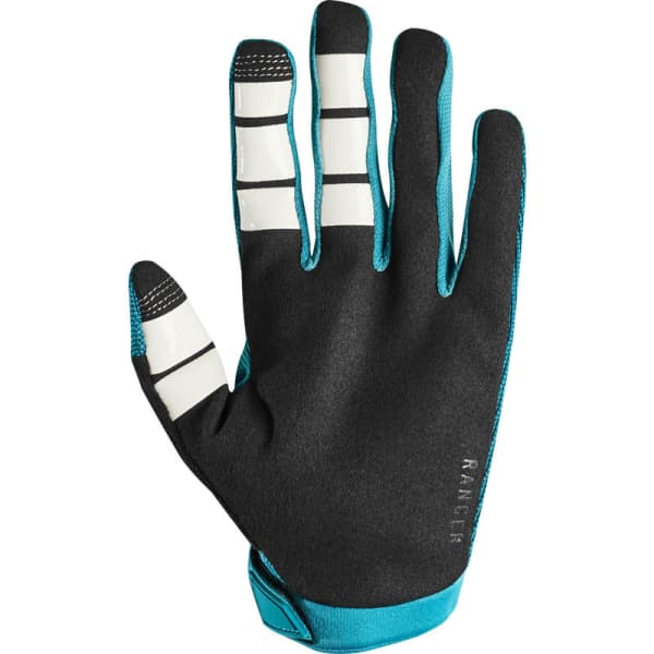 Fox Ranger Ladies Aqua Long Finger Gloves