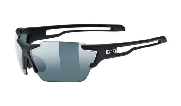 Uvex Sportstyle 803 Colorvision Matte Black Sunglasses