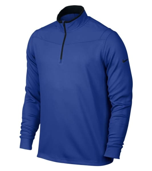 Nike Men's DRY-FIT 1/2 Zip Long Sleeve Top