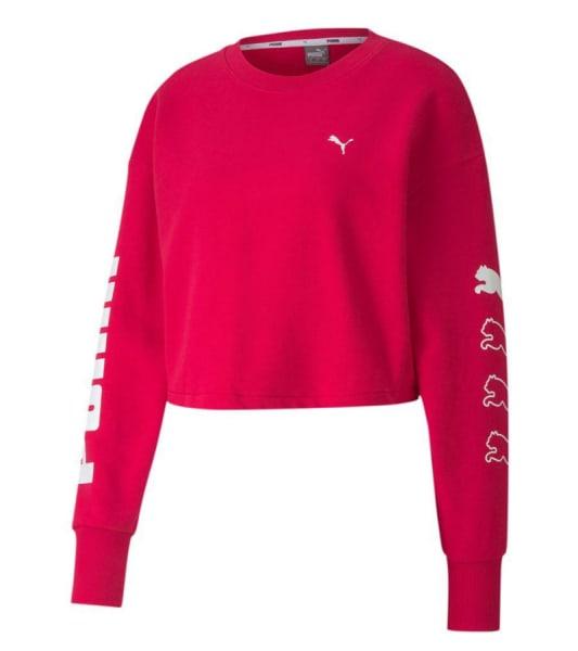 Puma Ladies REBEL Crew Sweater