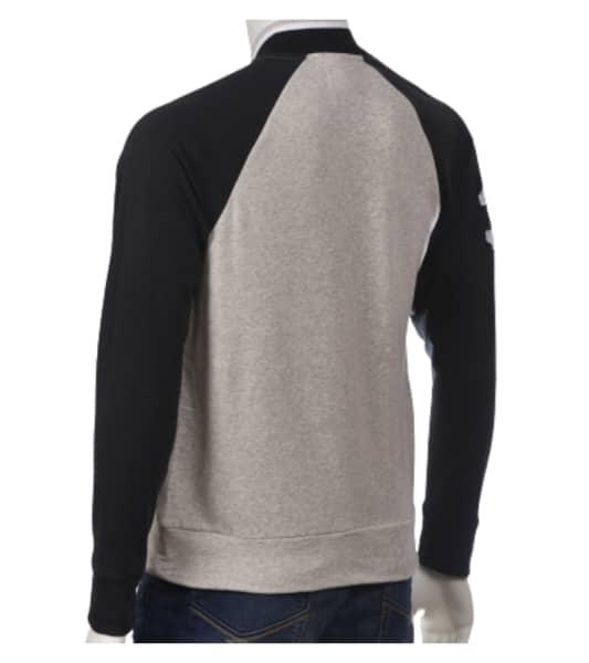 Men's Long Sleeve Zipper Sweater