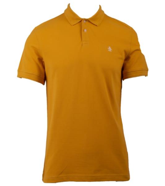 Men's Raised Rib Golf Polo