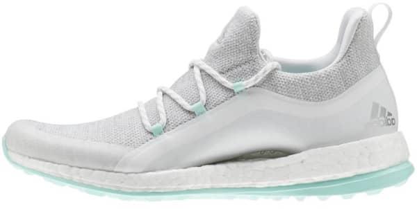 adidas PureBoost Ladies White/Mint Shoes