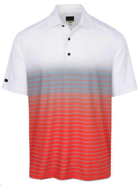 Greg Norman Print White Men's Shirt