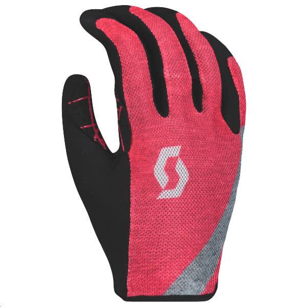 Scott Traction Ladies Pink Gloves