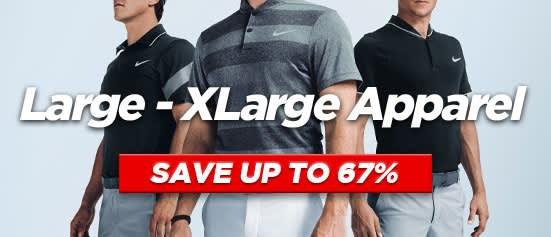 Large - Extra Large Sized Apparel