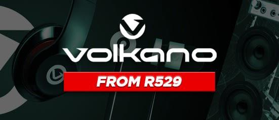 Volkano Headphones