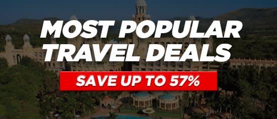 Most Popular Travel Deals