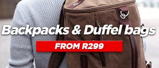 Backpacks & Duffel bags
