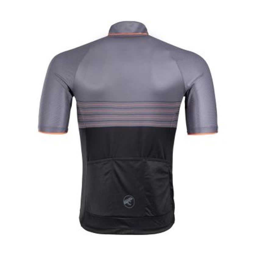 First Ascent Men's Black Domestique Short Sleeve Jersey