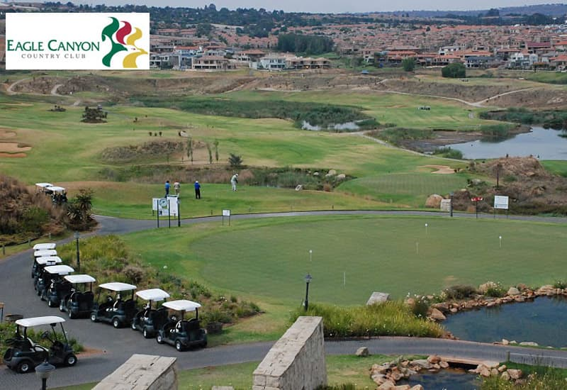 Eagle Canyon Country Club: 4-Ball deal for only R829!
