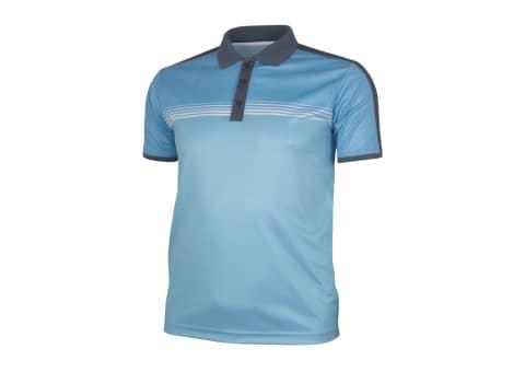 Rhode Island Men's Racer Polo Golf Shirt