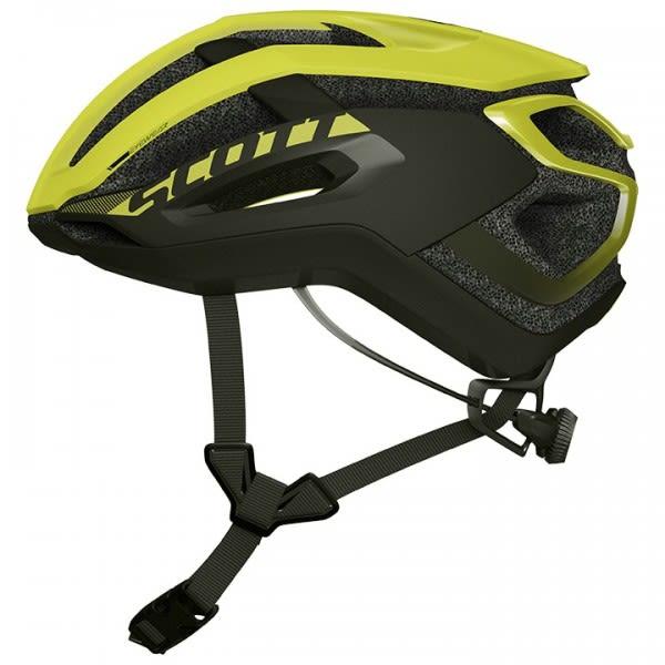 Scott Centric Plus Black/Yellow Road Helmet