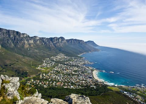 Cape Town Helicopters HOPPER Scenic Flight for 4- Cape Town Stadium - Lions Head - Clifton - Camps Bay