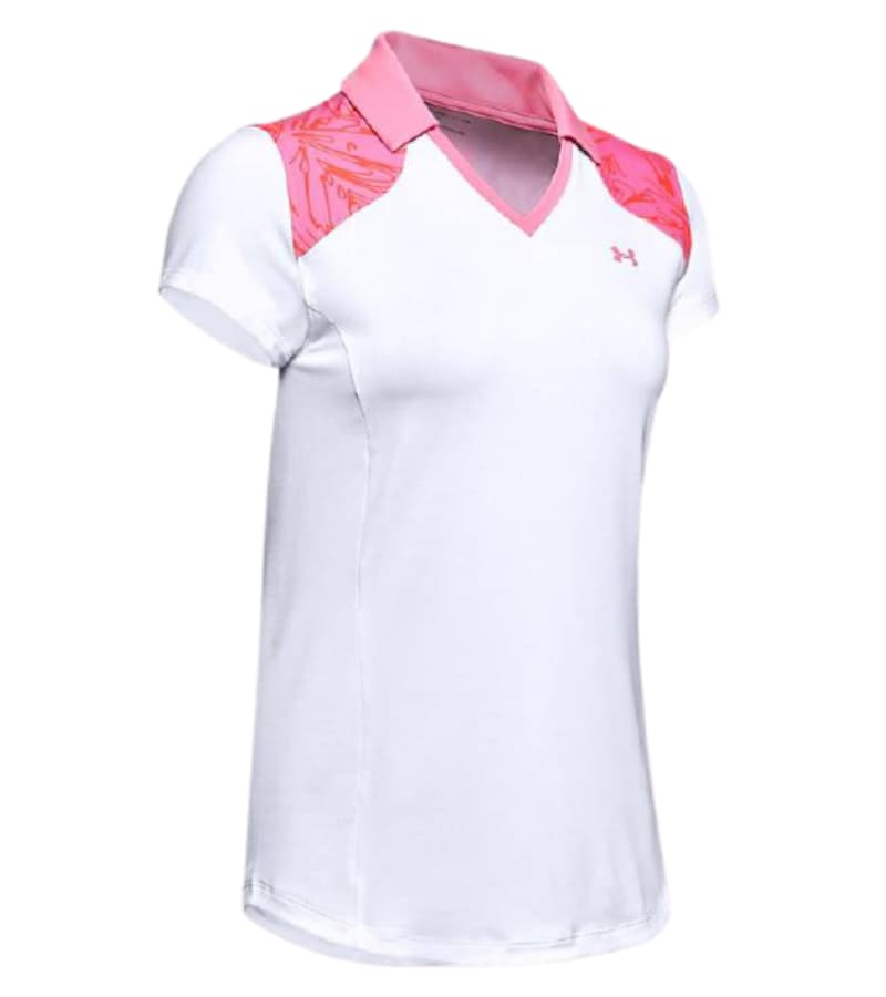 Under Armour Ladies Zinger Blocked Polo