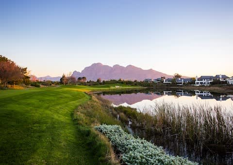 PEARL VALLEY HOTEL by Mantis: Stay & Play Special: 1 Night for 2 + 1 Round Each + Cart!