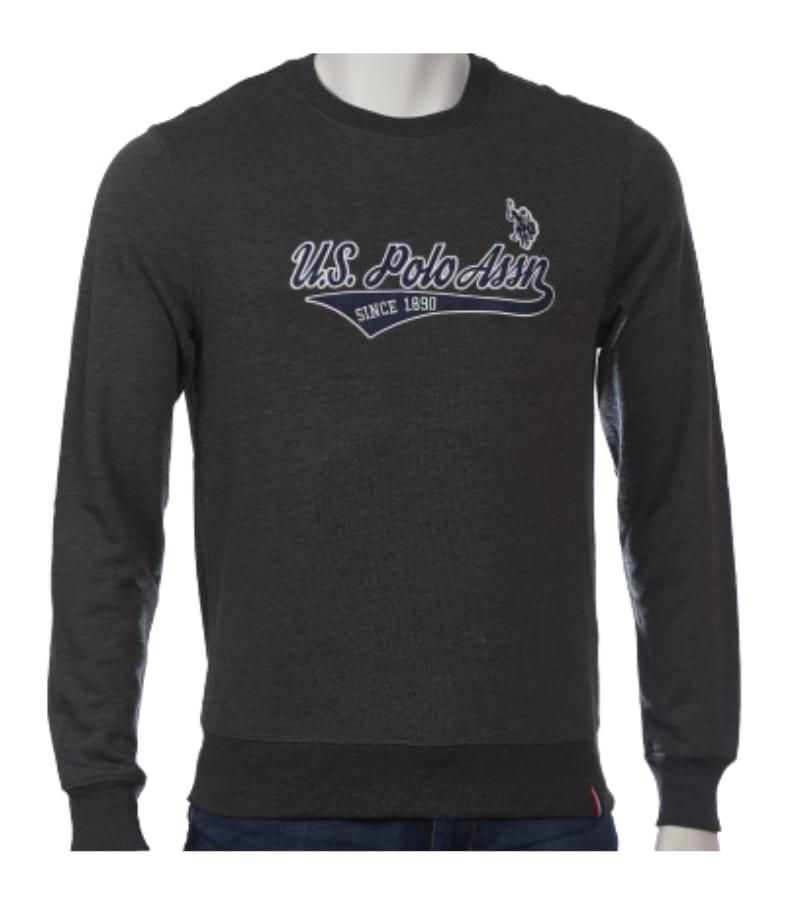 Men's Light Weight Terry Fleece Sweatshirt