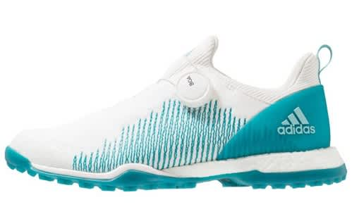 adidas Forgefiber BOA Ladies White/Teal Shoes