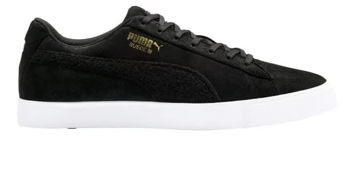 Puma Suede G Pitch Men's Black Shoes