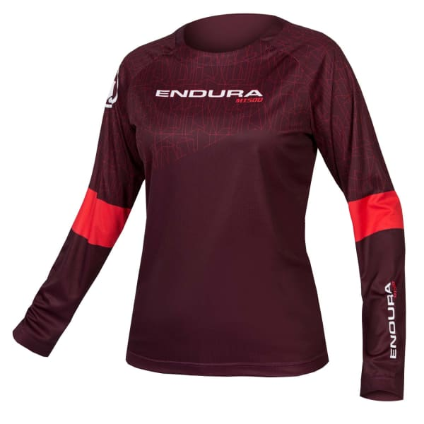 Endura Ladies Purple MT500 Print T II LTD Long Sleeve Jersey
