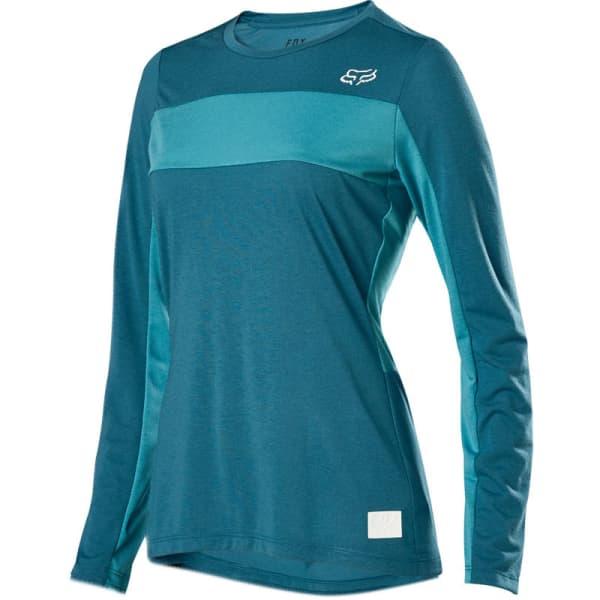 Fox Ladies Maui Blue Ranger Drirelease® Long Sleeve Jersey