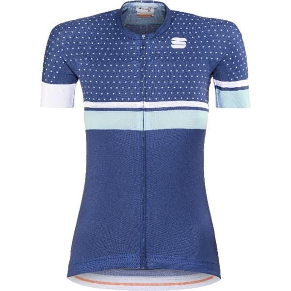 Sportful Diva Ladies Blue Dots Jersey