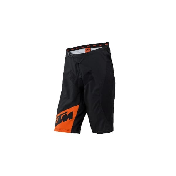 KTM Factory Men's Line Orange/Black Enduro Shorts