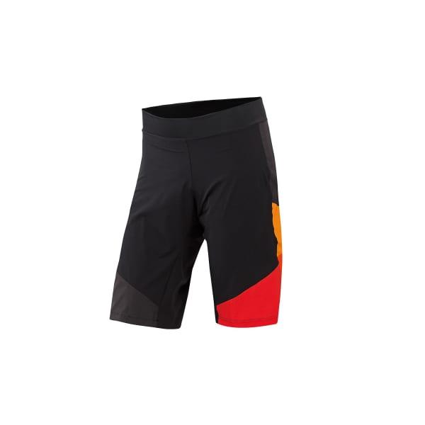 KTM Factory Men's Orange/Black Character Baggy Shorts with liner
