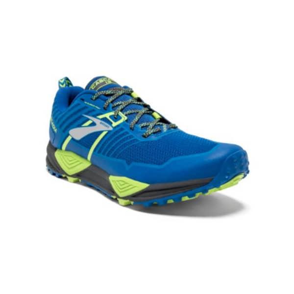 Brooks Men's Cascadia 13 Trail Running Shoes (Blue)