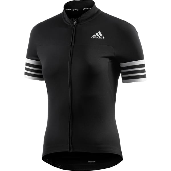 Adidas Adistar Short Sleeve Jersey Black/White