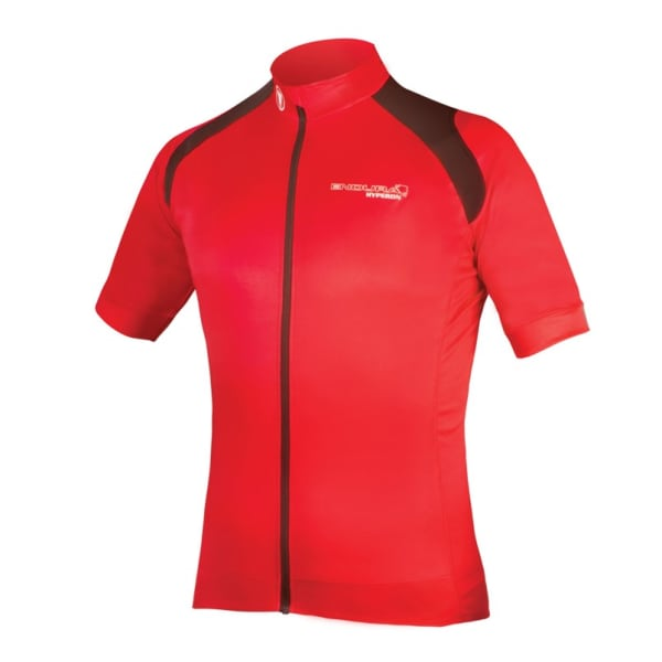 Endura Men's Red Hyperon Short Sleeve Jersey