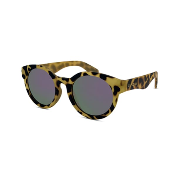 Lundun Unisex Demi Yellow Kent Sunglasses