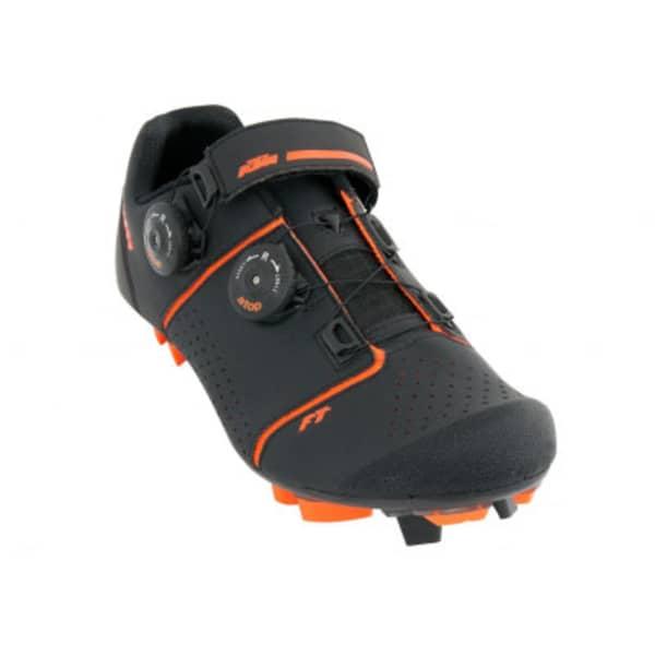 KTM Factory Team Men's Black Carbon MTB Shoes