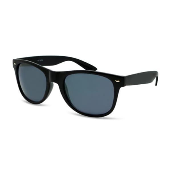 BondiBlu Wayfarer Black Temple Sunglasses