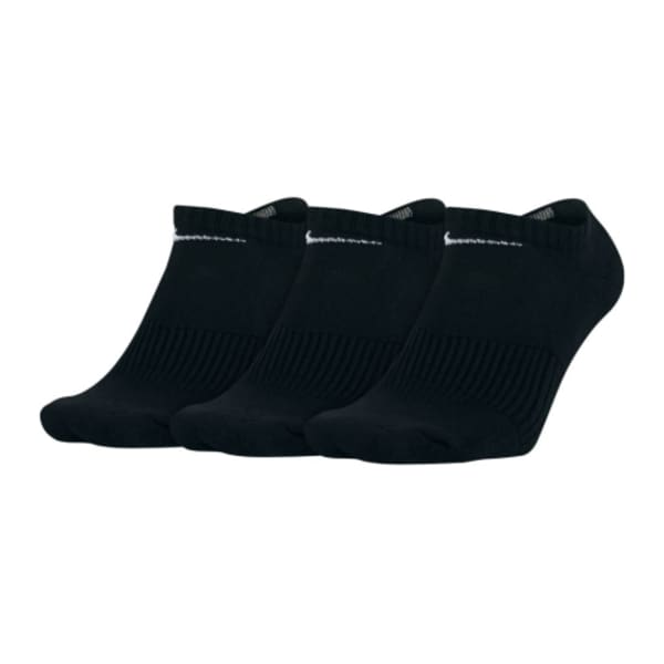 Nike Unisex 3 Pack No Show Socks