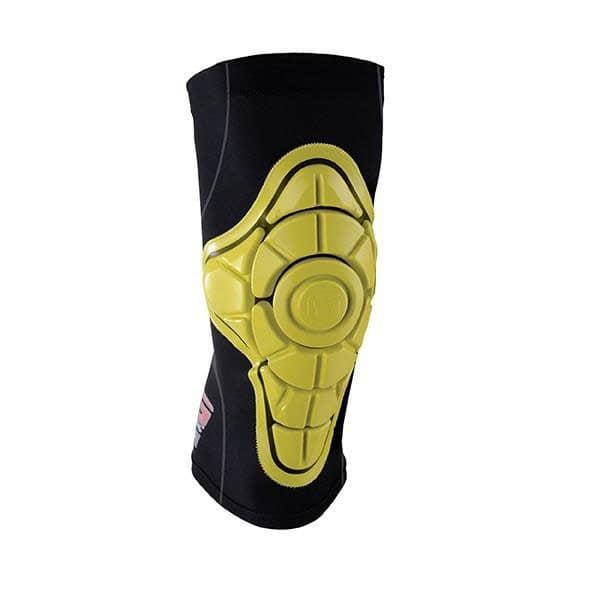 Gform Pro X Junior Black/Yellow Knee Pad