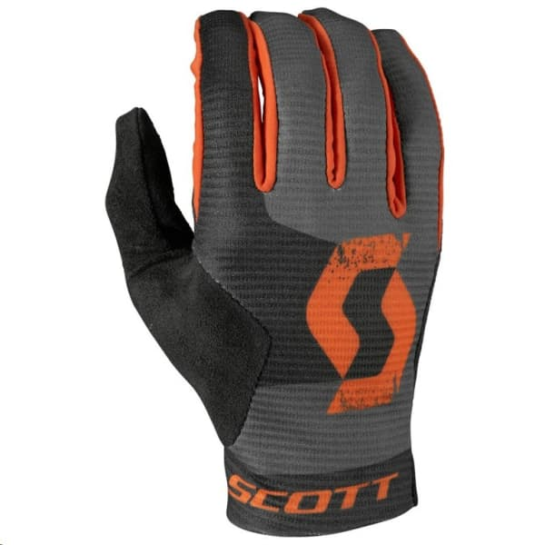 Scott Grey/Orange Ridance Eclipse Long Finger Gloves