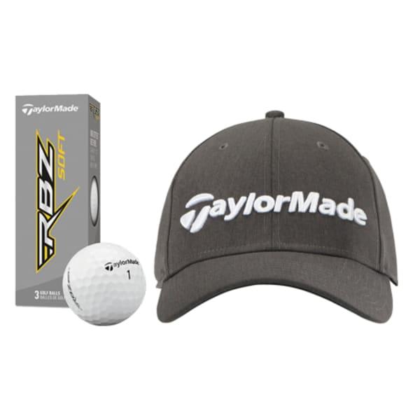 TaylorMade Performance Seeker Cap + 6 FREE TaylorMade RBZ Soft Golf Balls