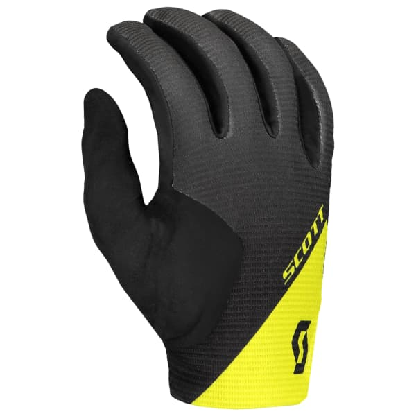 Scott Ridance Black/Yellow Long Finger Gloves